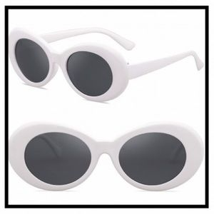 Other - 🆕 CLOUT GOGGLES SUNGLASSES WHITE FRAMED RETRO